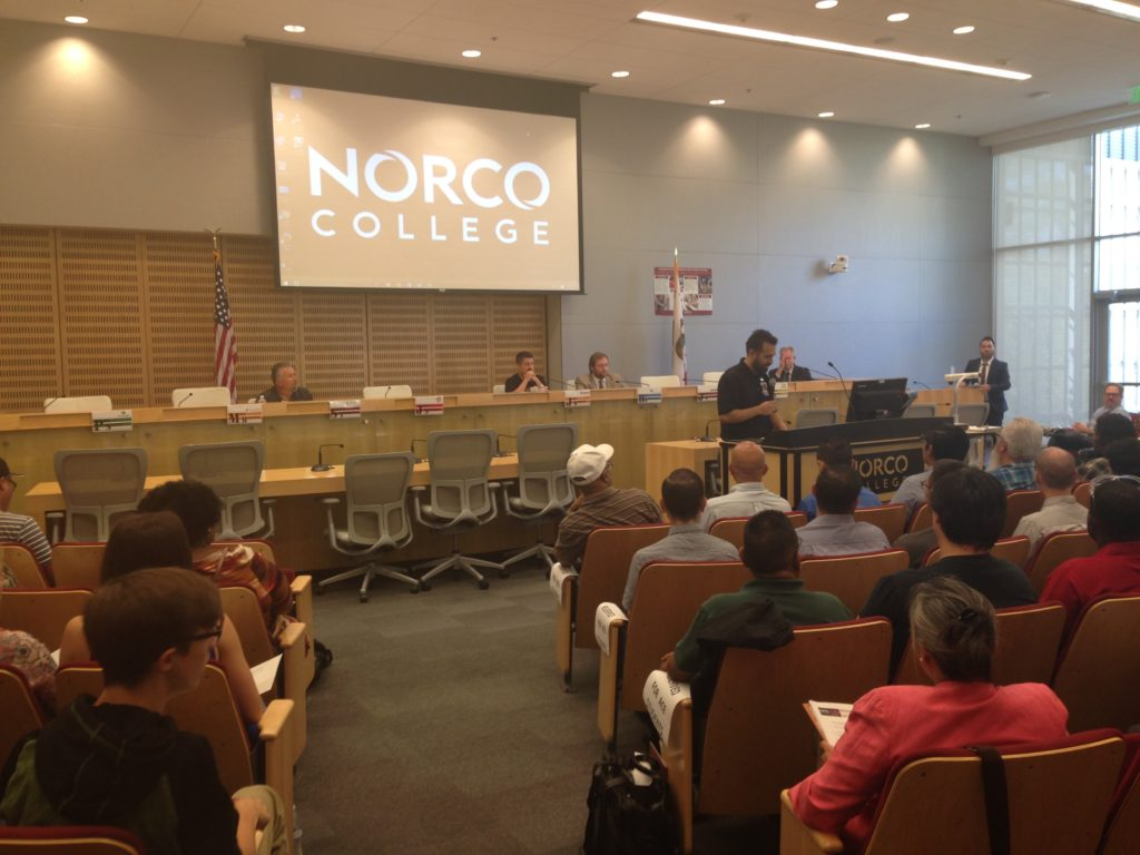 We Attended Norco College Advanced Manufacturing Panel!