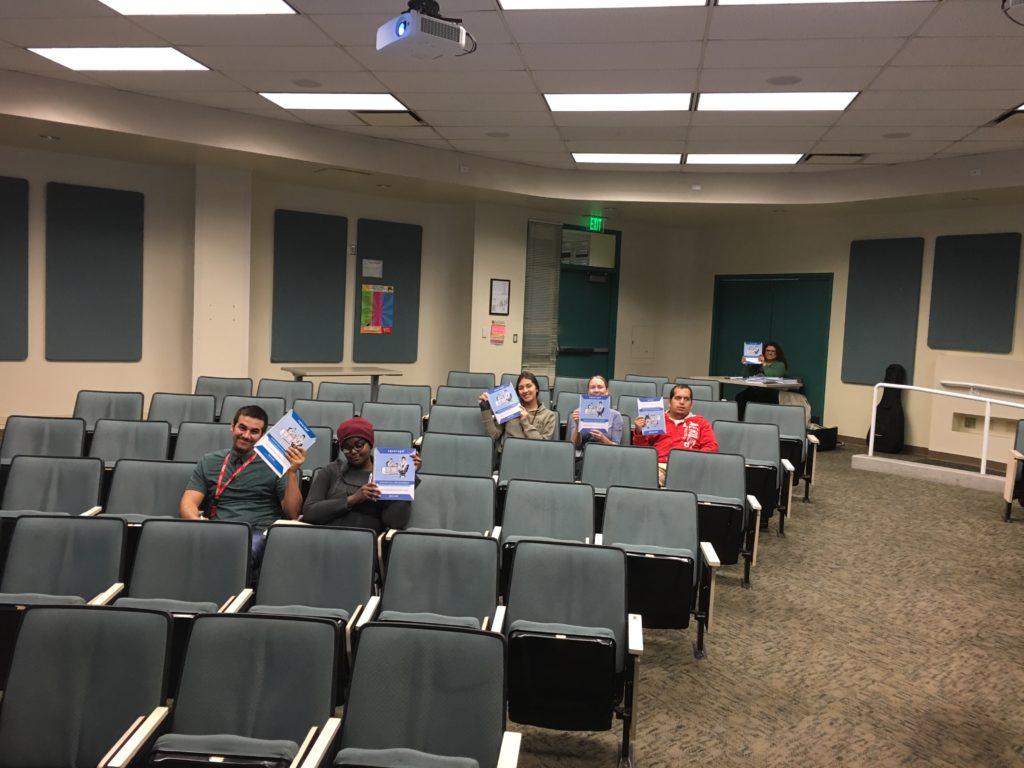 Teaching Workshop at Moreno Valley College!